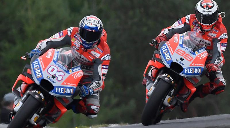 Jorge Lorenzo and Andrea Dovizioso may be competing for a Ducati MotoGP ride in 2021 - we talk about it on the Motoweek MotoGP Podcast
