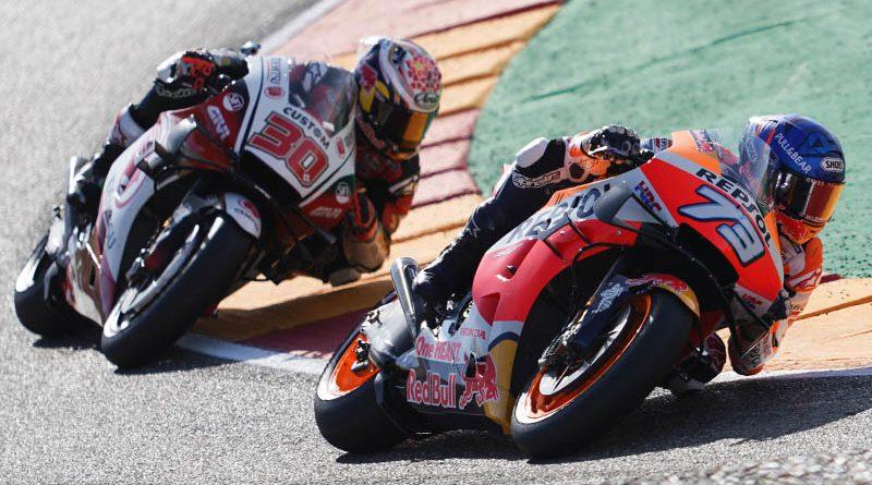 MotoGP Alex Marquez Taka Nakagami Aragon