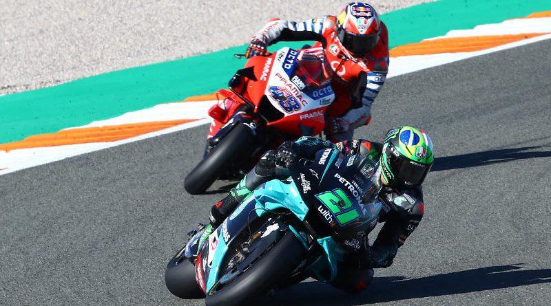 MotoGP Franco Morbidelli Jack Miller Valencia 2020