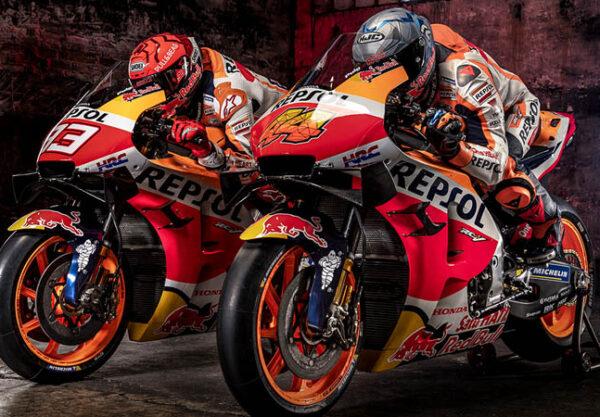 Marc Marquez Pol Espargaro Honda 2021 MotoGP