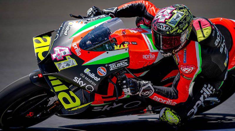MotoGP Aleix Espargaro Testing