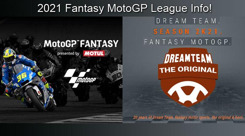 2021 Fantasy MotoGP League Info
