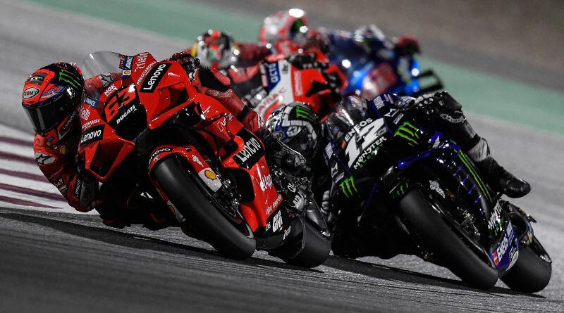 2021 MotoGP Qatar - Pecco Bagnaia - Maverick Vinales