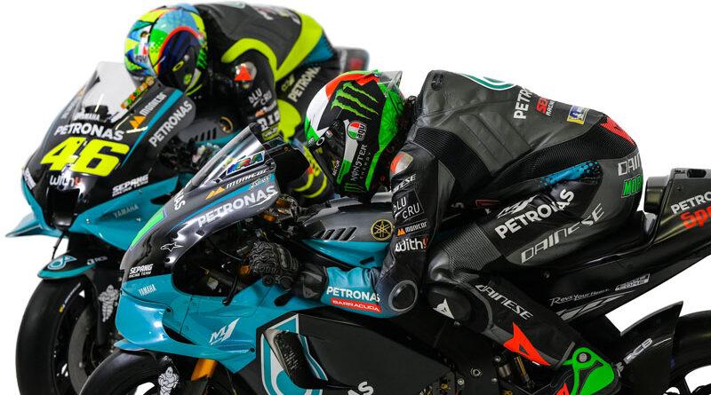 MotoGP Valentino Rossi Franco Morbidelli 2021 Presentation