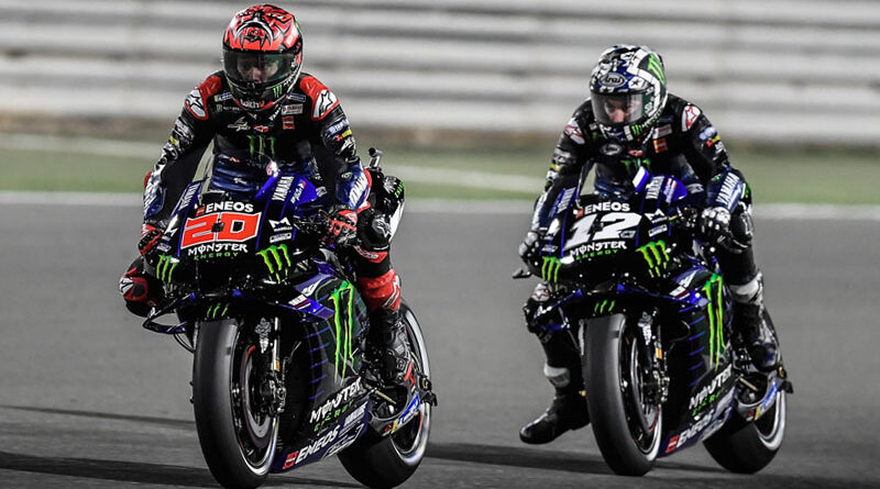 2021 MotoGP Doha - Quartararo and Vinales