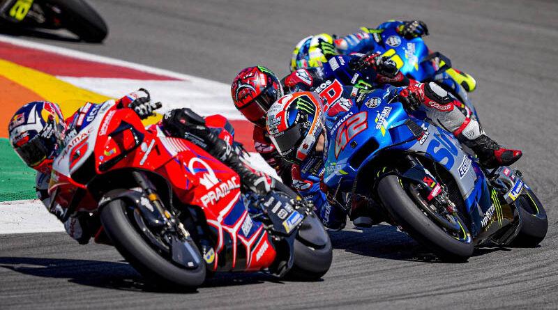 2021 MotoGP Portugal - Johann Zarco - Alex Rins - Fabio Quartararo
