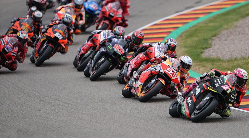 2021 MotoGP Sachsenring Aleix Espargaro Marc Marquez