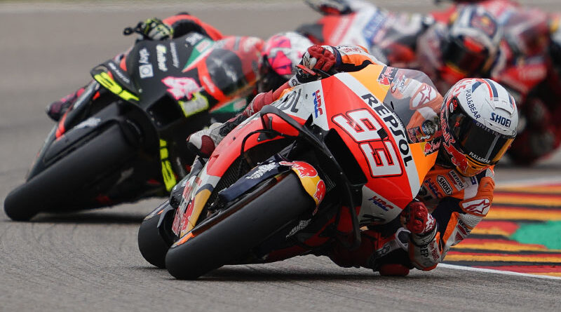 2021 MotoGP Sachsenring Marc Marquez