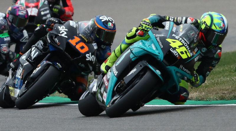 2021 MotoGP Sachsenring Valentino Rossi Luca Marini