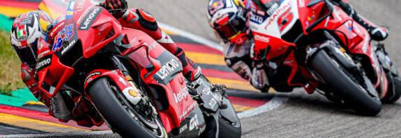 2021 MotoGP Sachsenring - Jack Miller Johann Zarco